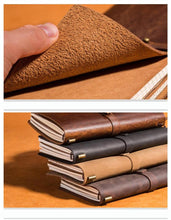 A sumptuous genuine leather journal - perfect for travel and note-taking on the go by Heed Need