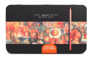 Richly pigmented Marco Renoir colored oil pencils in small to large packs