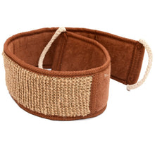 A natural sisal massage strap perfect for the bath by Heed Need