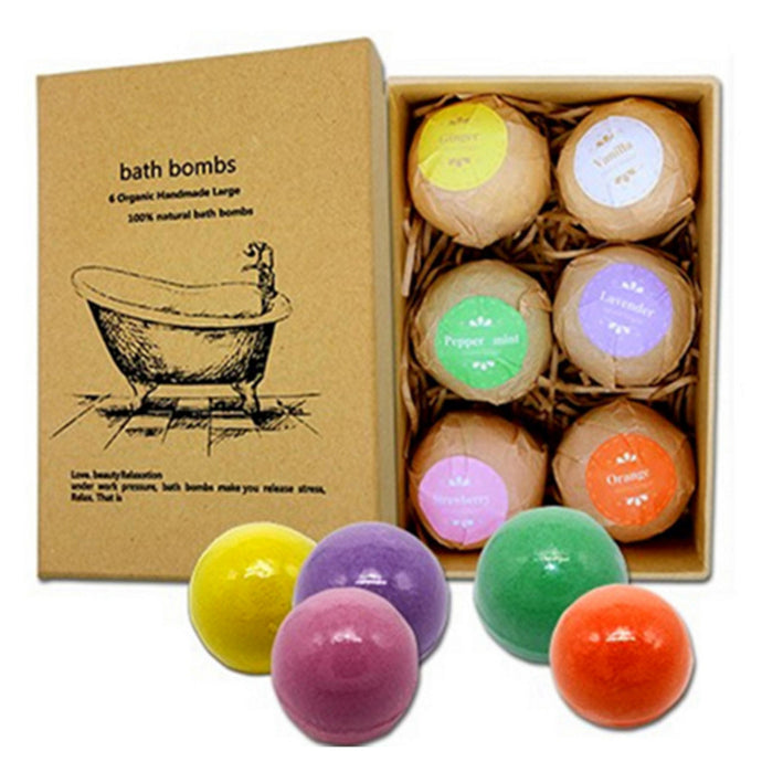 Handmade bubble bath bombs with sea salt and heavenly oil fragrances by Heed Need