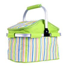 A colorful outdoor picnic basket with insulation bag by Heed Need