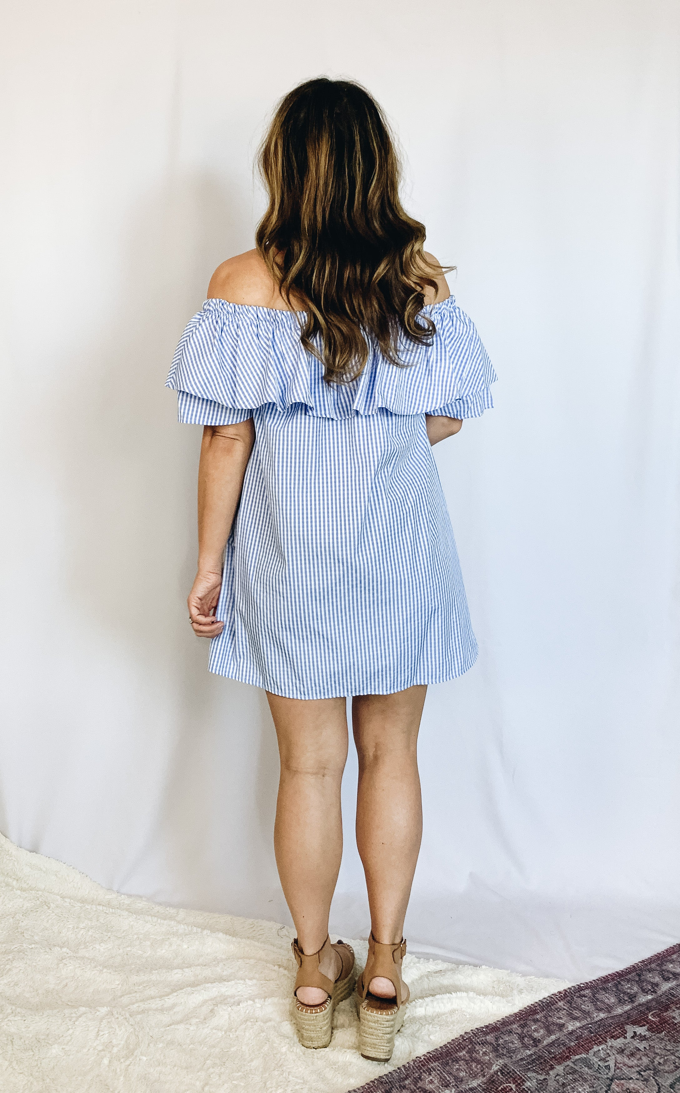 Gabby Off The Shoulder Dress