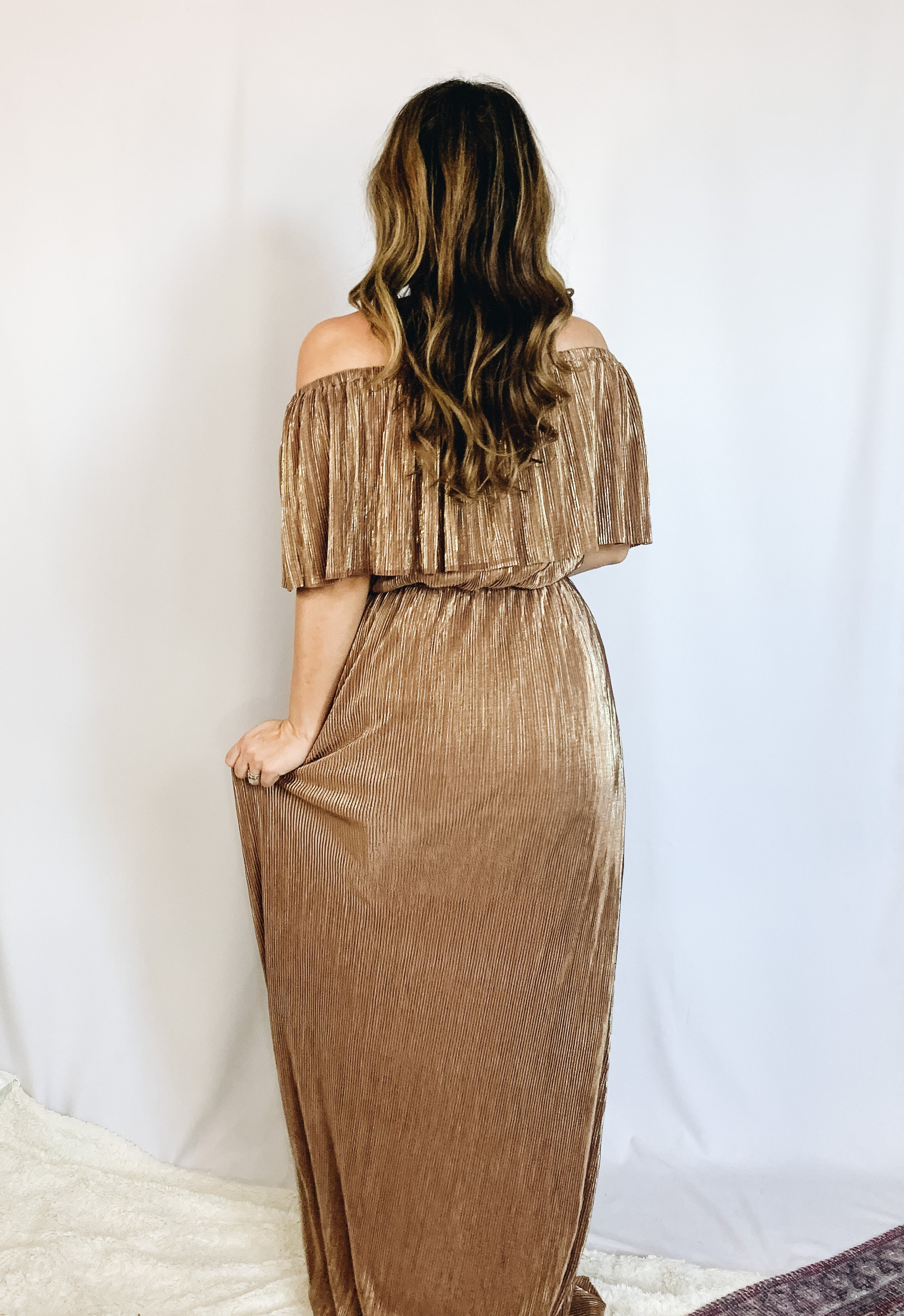 Kathryn Off The Shoulder Dress