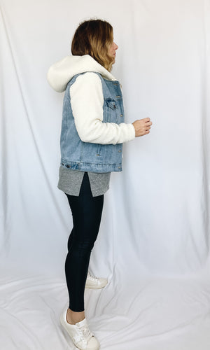 Brady Sherpa Denim Jacket