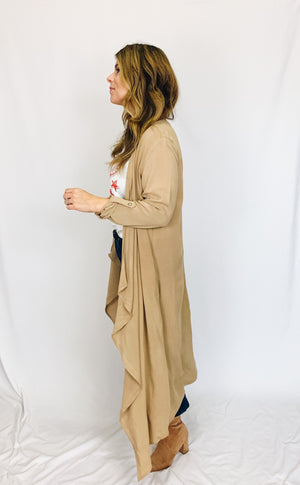 Lane Long Line Cardigan