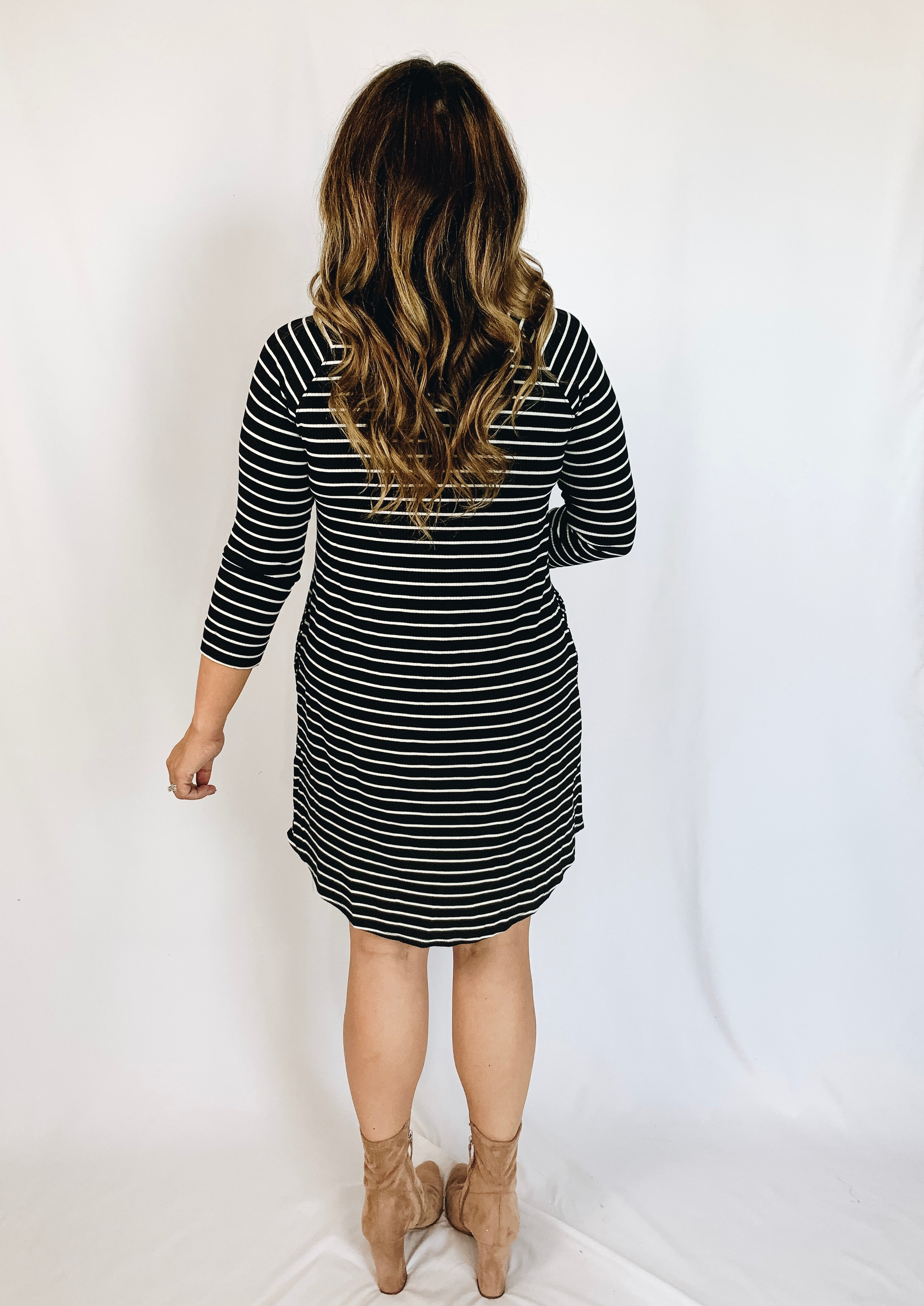 Leighton Striped Dress