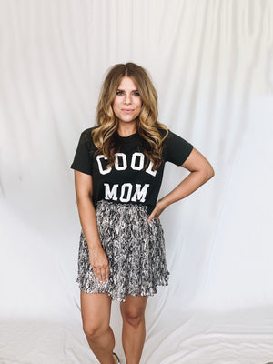 Cool Mom Cropped Tee