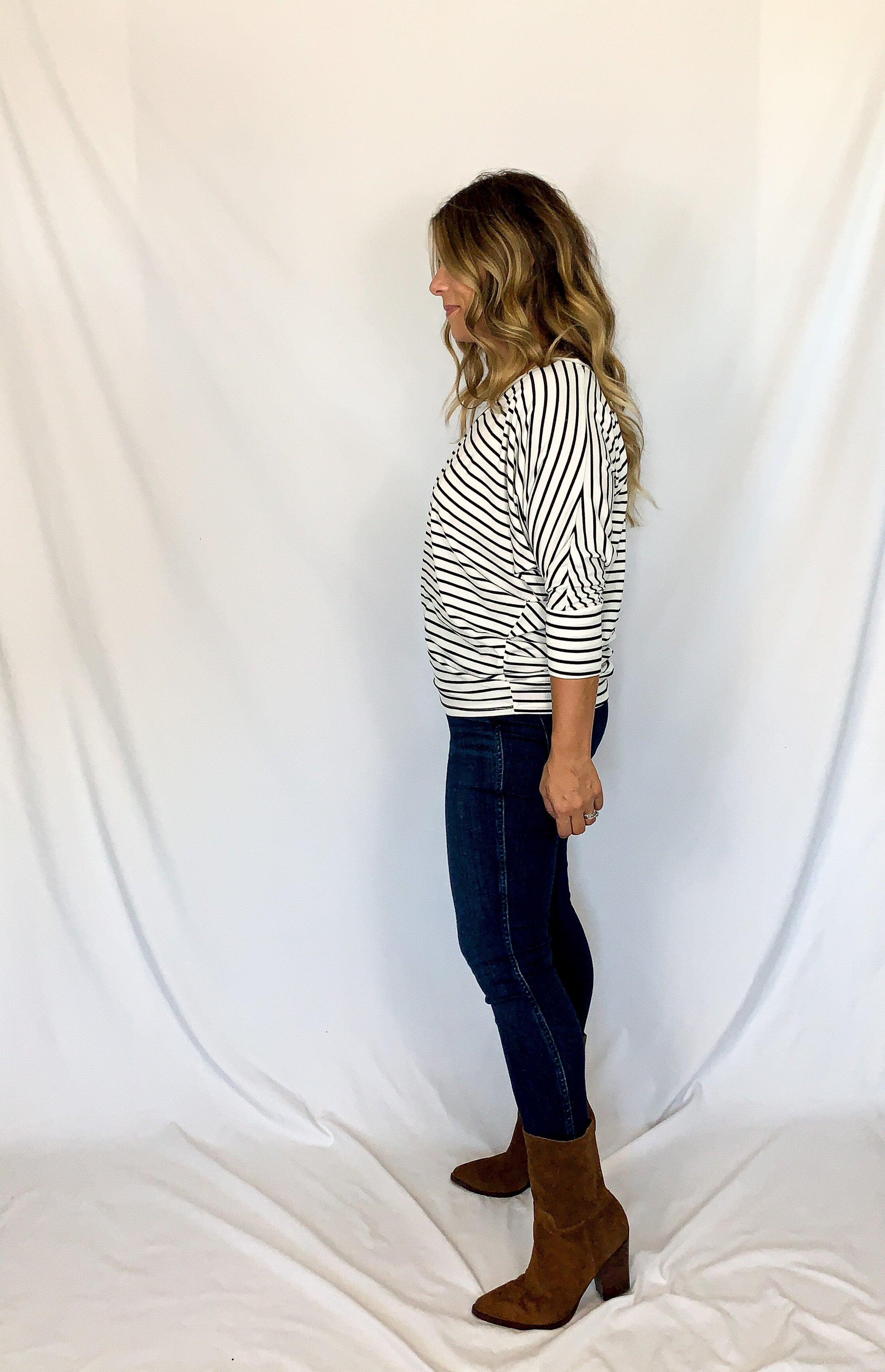 Jennifer Stripe Top