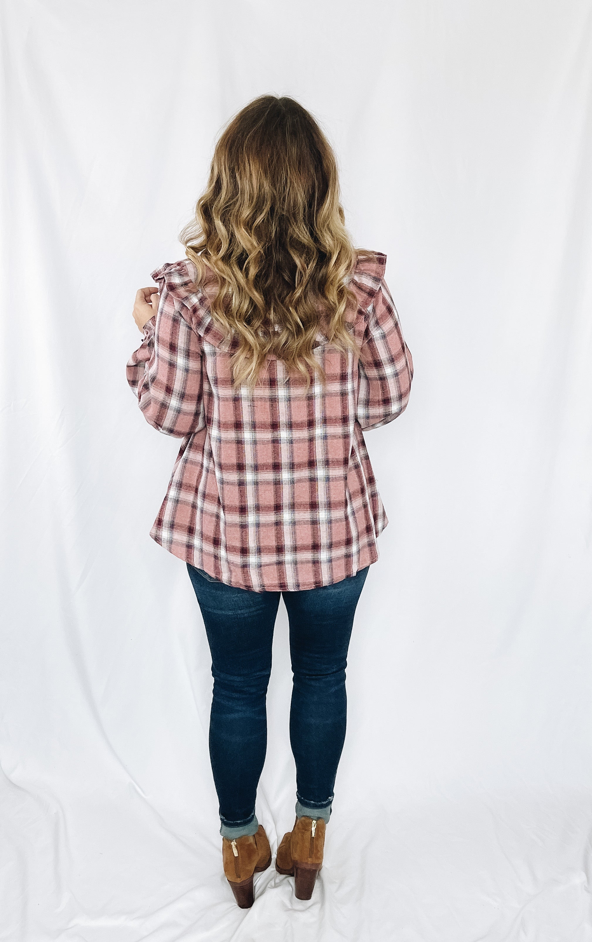 Raleigh Flannel Top