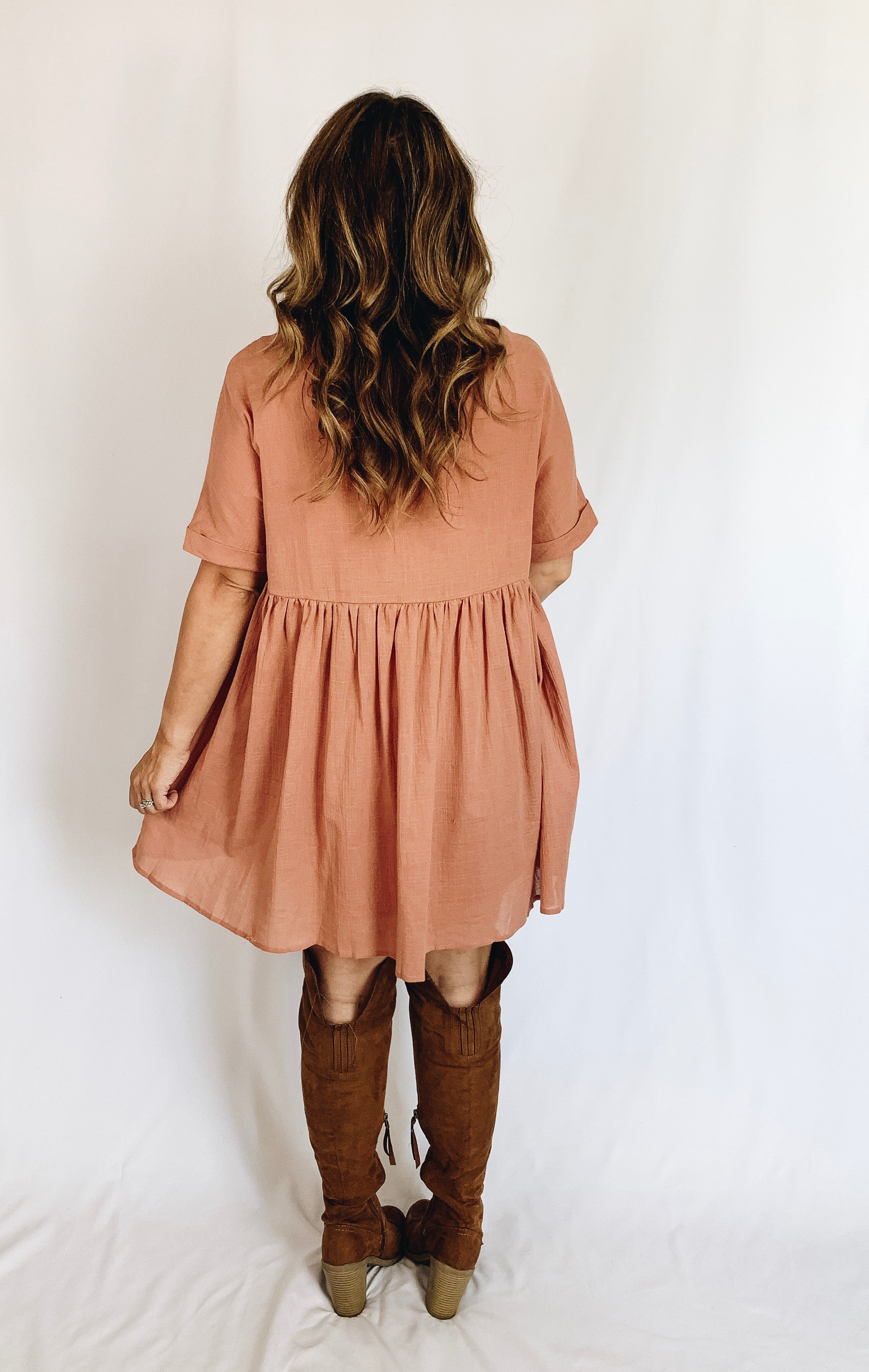 Carrie Dress- Ginger