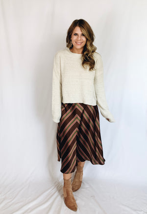 Taylor Sweater- Cream