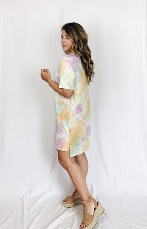 Cala Tie Dye Dress