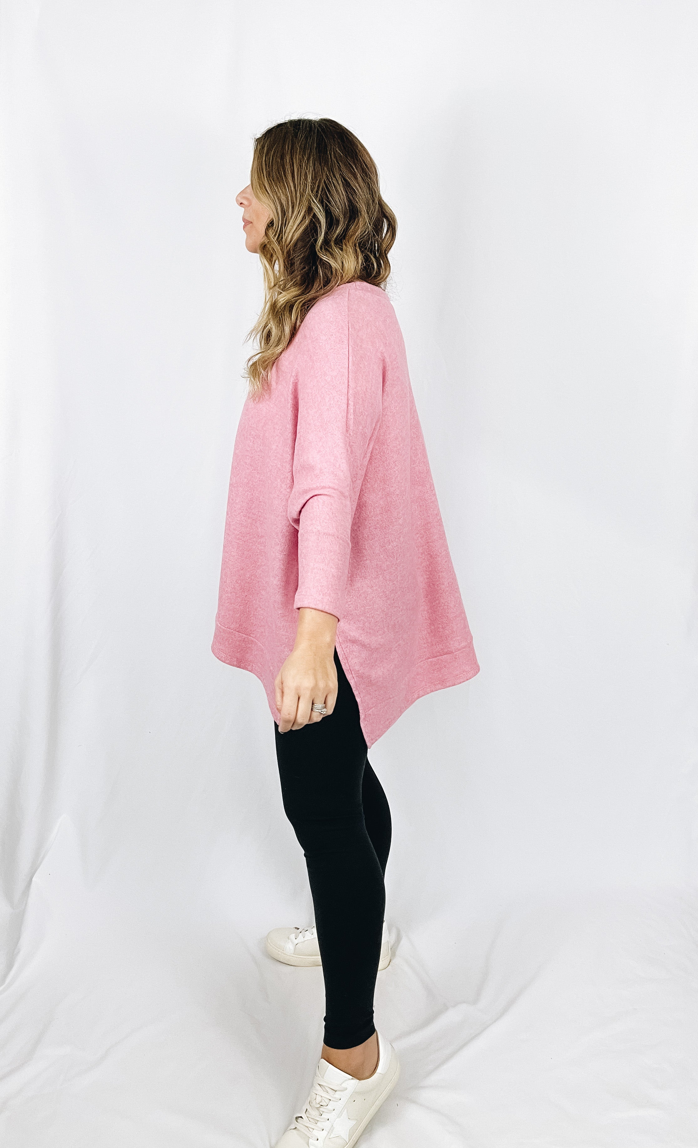 Avery Top- Pink