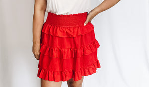 Ellie Ruffle Skirt