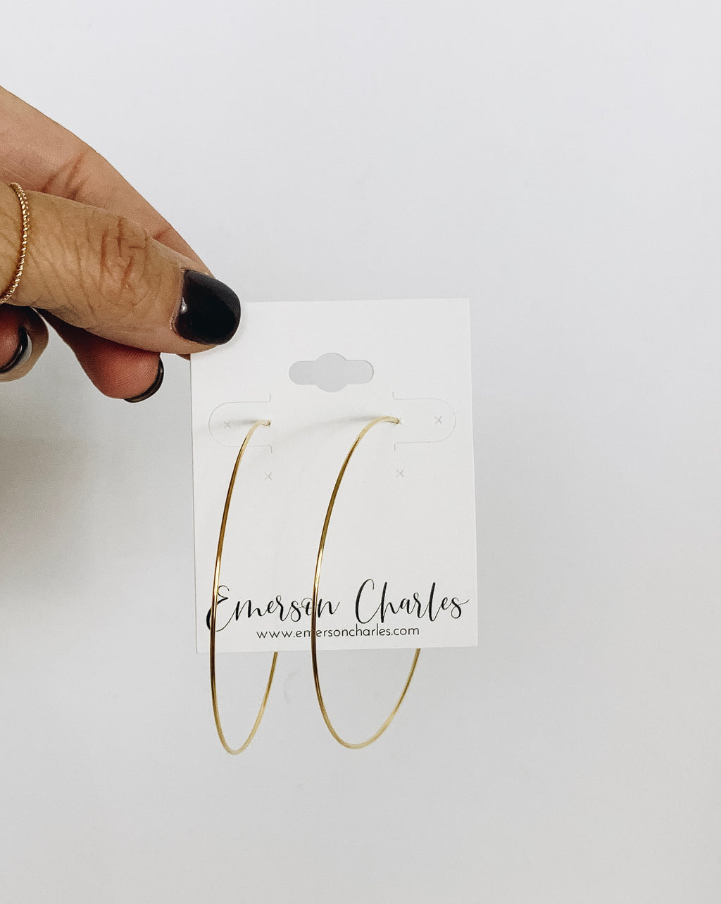 Kammi Gold Hoops