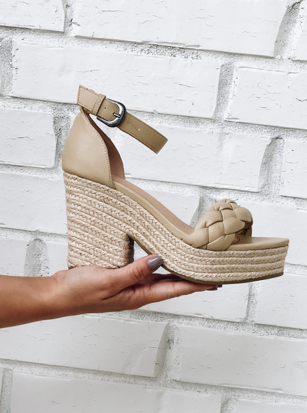 Mallory Braided Wedge