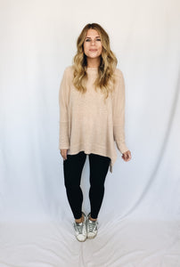 Rowan Sweater- Taupe
