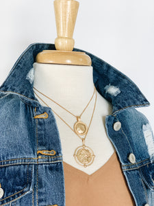Cadence Coin Necklace