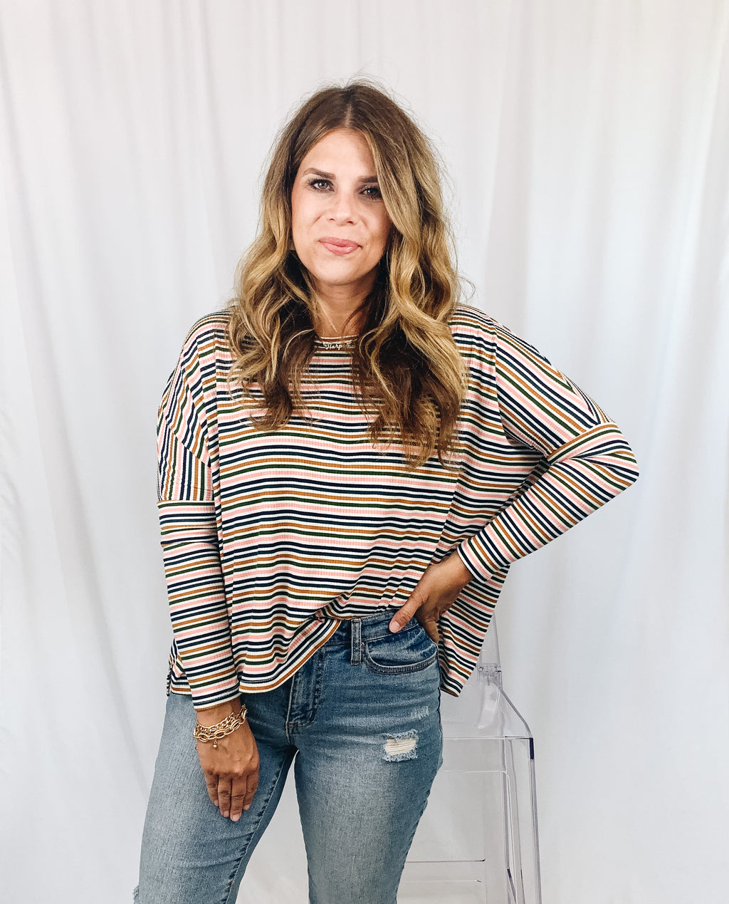 Barrett Stripe Top