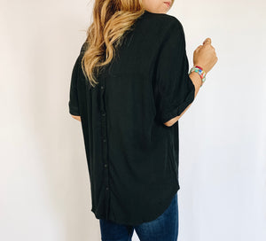 Quinn Blouse- Black