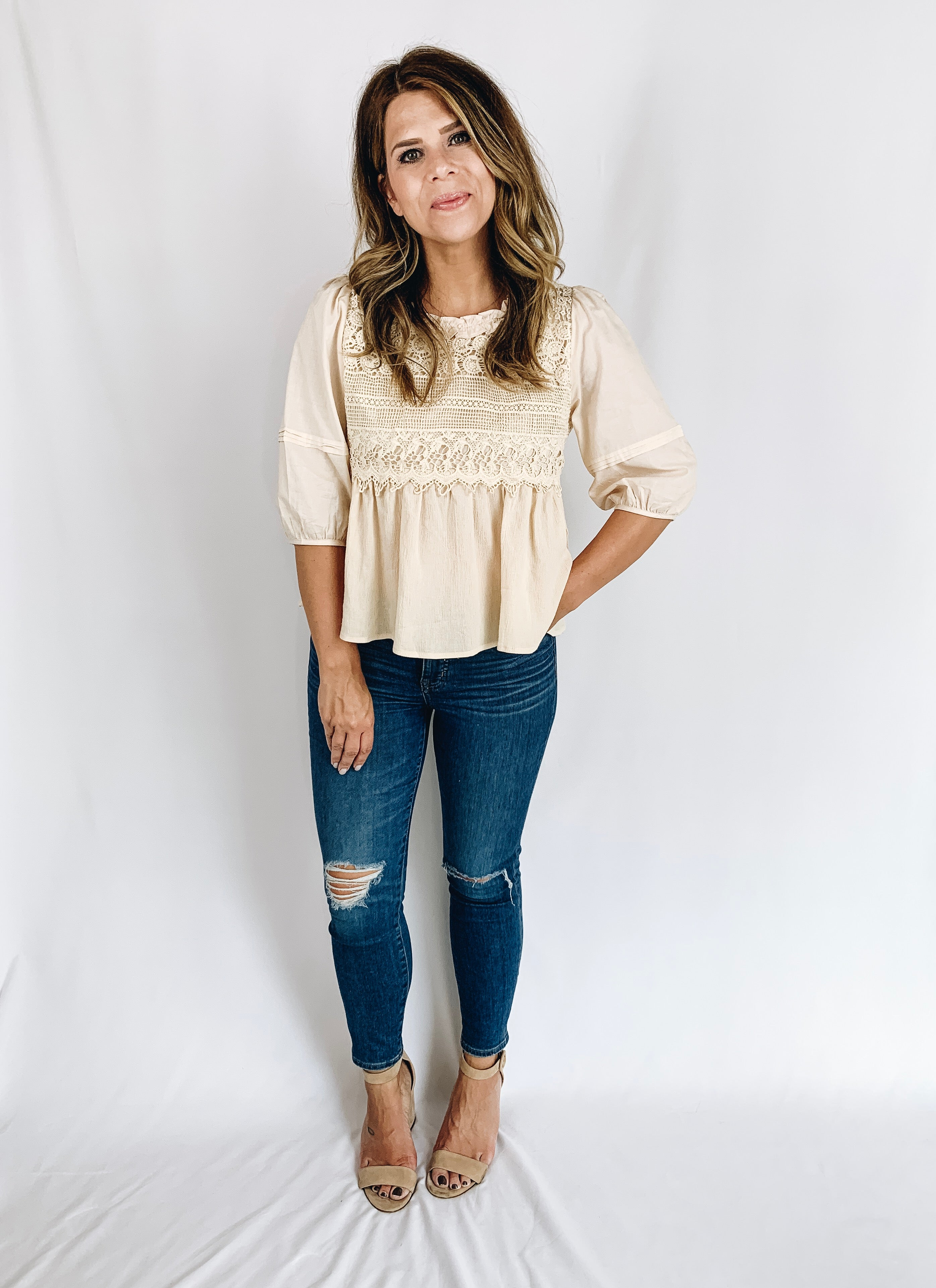 The Amelia Blouse