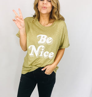 Be Nice Graphic Tee
