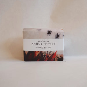 Snowy Forest Soap