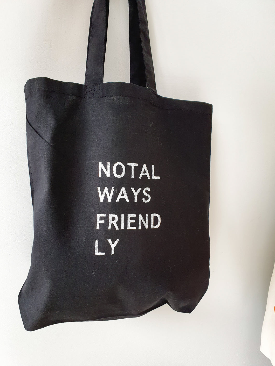 Not Always Friendly Tote Bag