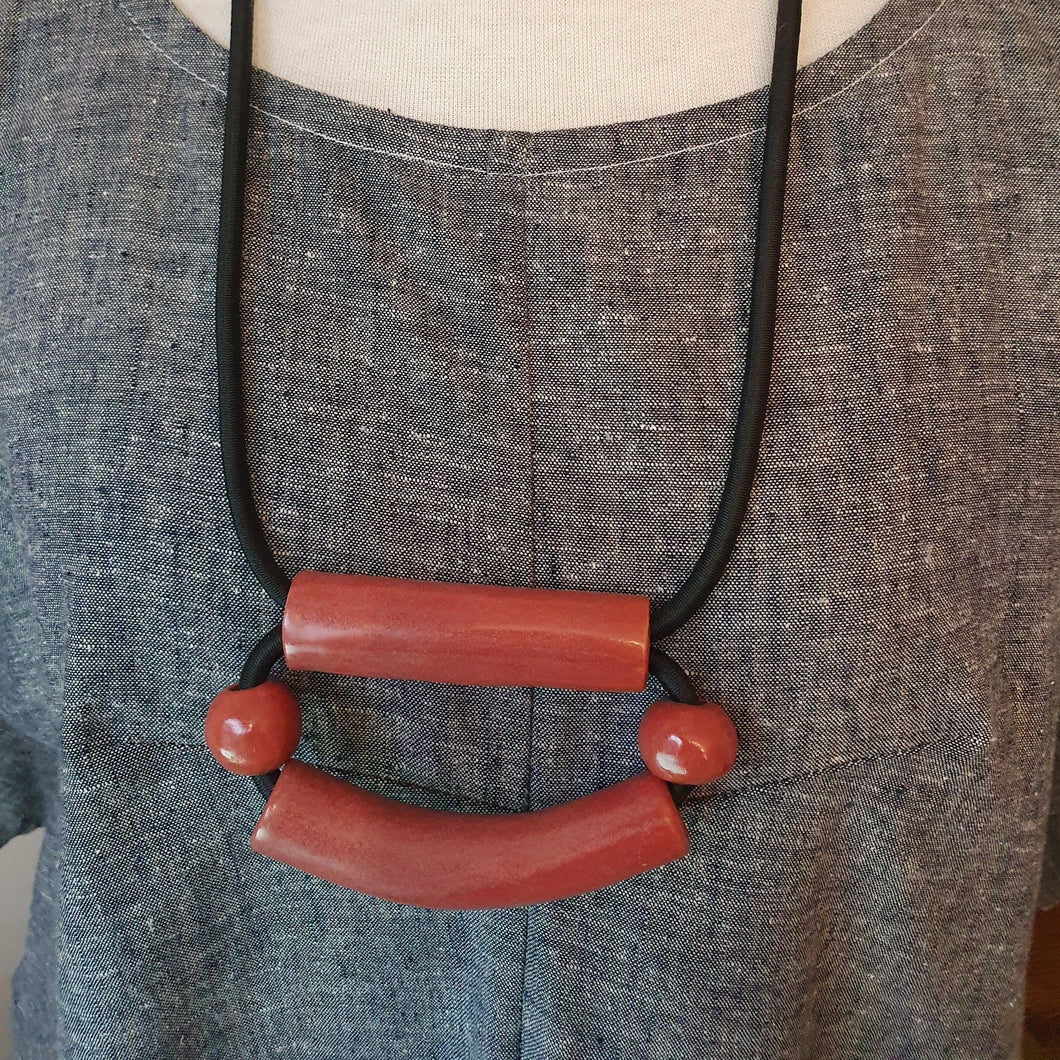 Ceramic Statement Necklace by YYY