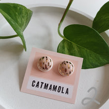 Load image into Gallery viewer, Ceramic Studs by Catmamola - Pink