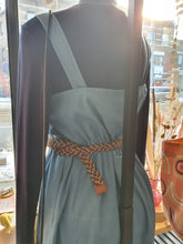Load image into Gallery viewer, Chambray Side Button Dress