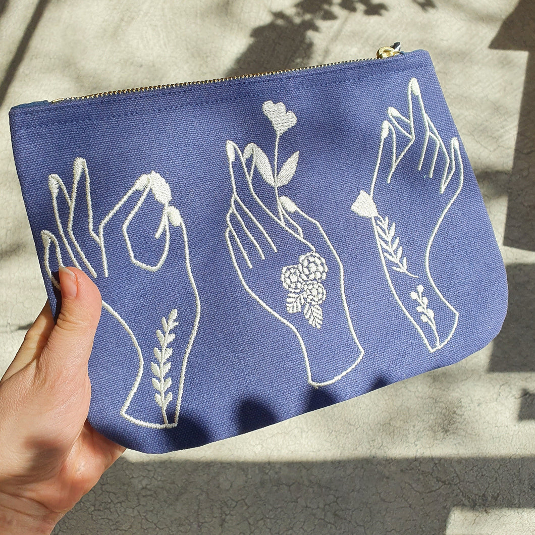 Show of Hands Zipper Pouch