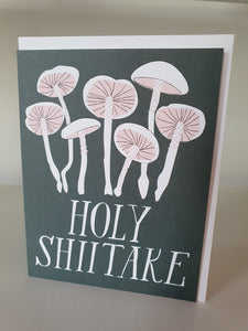 Holy Shiitake note card