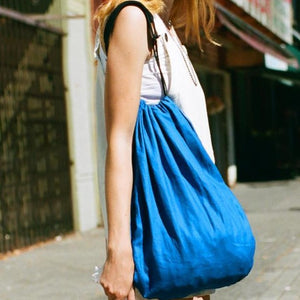 Grocery Tote - Cerulean Blue