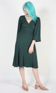 Palmcreeper Dress - Forest
