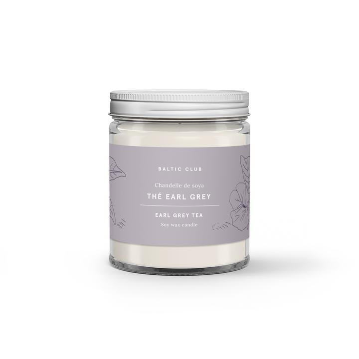 Earl Grey Tea Soy Candle