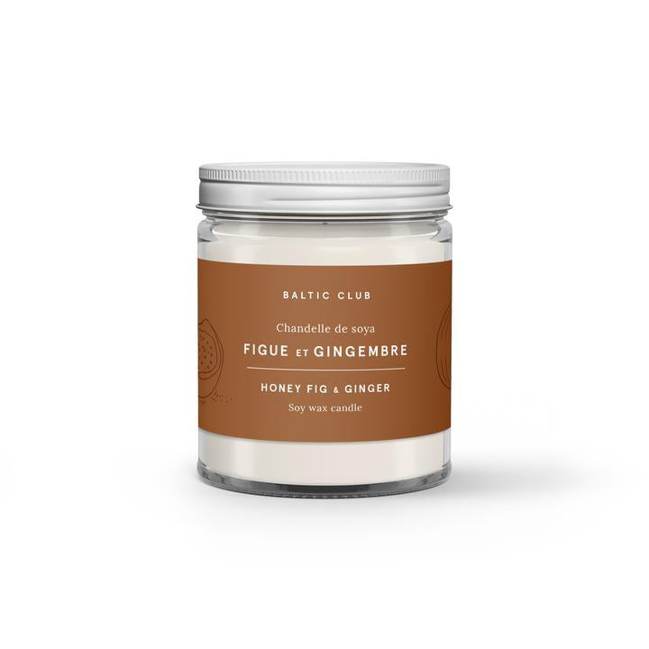 Honey Fig & Ginger Soy Candle