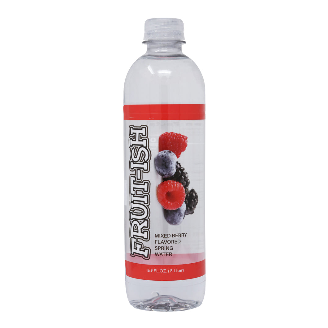 KRISPwtr Fruit-ish Mixed Berry Flavored Spring Water - 12 pack