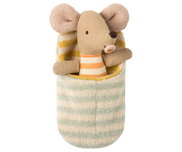 Matchbox Mice- Baby Mouse in Sleeping Bag