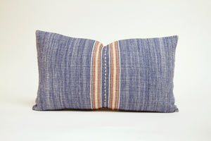 Blue and Orange Lumbar Cover