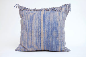 Blue and Gray with Fringe Cover