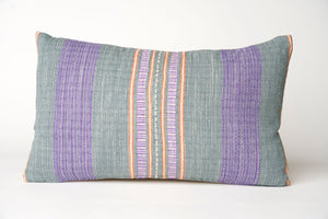 Striped Hmong Pillow Cover