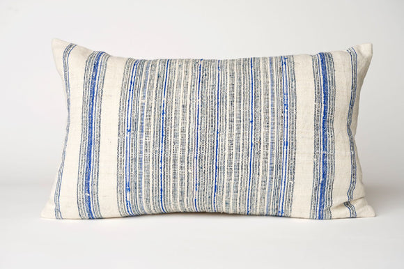 Handmade Hemp Accent Pillow Cover