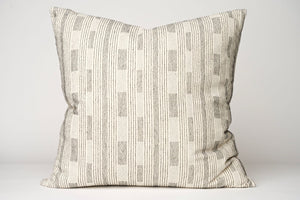 Cream Stitched Pillow Cover