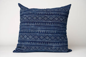 Indigo Patterned Pillow Cover