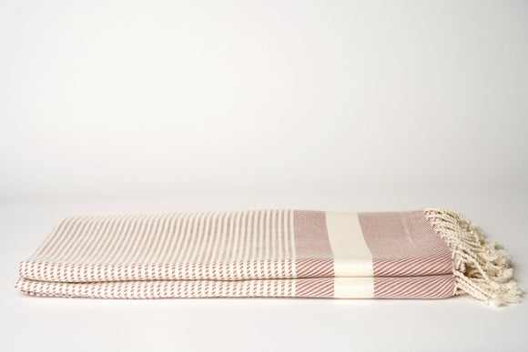 Rose and Cream Throw