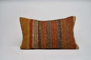 Fall Inspired Turkish Kilim Pillow Cover