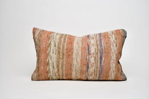 Pastel Turkish Kilim Pillow Cover