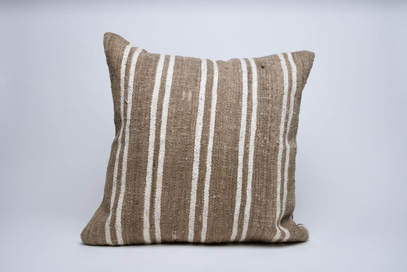 Striped Turkish Kilim Pillow Cover