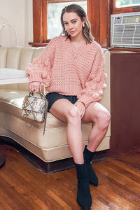 Tristin Dotty Sweatshirt